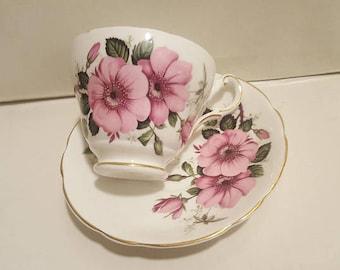 Regency Floral Teacup Set