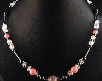 Necklace crystals