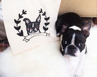 Benutzerdefinierte Haustier Tote Bag - personalisierte Haustier Tote Bag - benutzerdefinierte Pet Portrait - individuelle Portraits - Tier-Portrait - Pet-Liebhaber - Geschenk für Tierfreunde