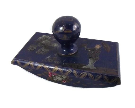 Vintage Chinese Rocking Ink Blotter