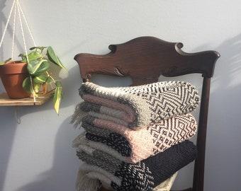 Handwoven 100% Cotton Baby Blanket