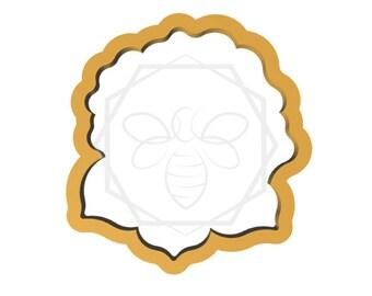 Jillbeesz Rose with leaf Cookie cutter
