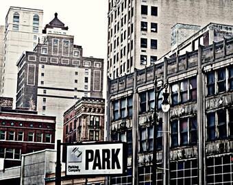 Detroit Photography - Downtown Detroit - 8x12