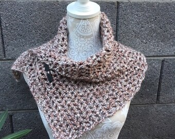 Woman's Scarf / Cowl, Crocheted