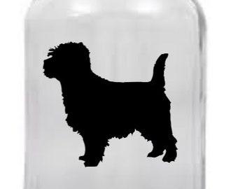 Cairn Terrier Mason Jar