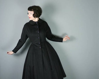 ON HOLD *** Classic 1950s Princess Coat