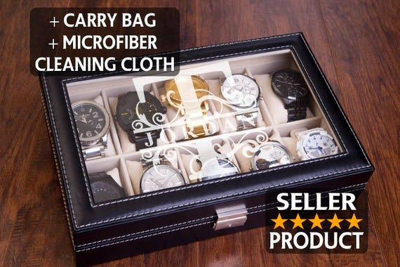 Watch Box Watch Case Engraved Watch Display Jewelry