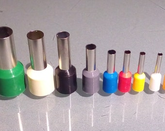 Mini cutters, polymer clay tool, dot tool, set of 9, micro cutter, small cutters, cutting tool, texturing tool