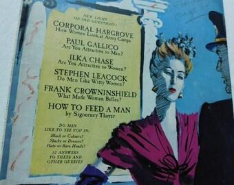 November 1942 Vogue  Fashion Issue