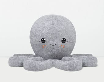 Octopus - Large Plush