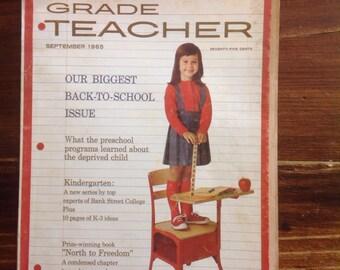Grade Teacher Magazine, September  1965