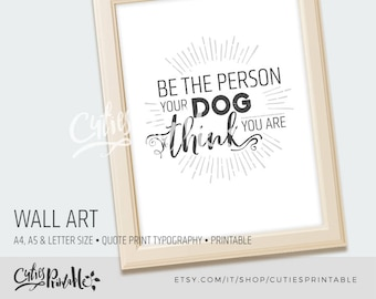 Wall art • quote print • typography printable• art office • decor office • print printable • poster art