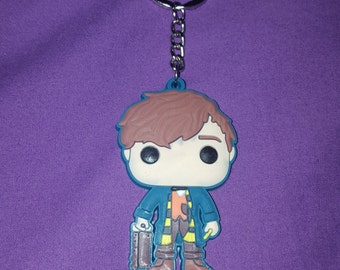 "Keychain Newt Scamander ""animals fantastic and where to find them"""