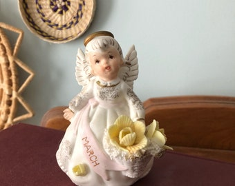 Lefton March Angel Figurine