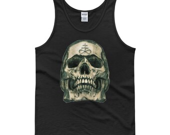 Leviathan cross skull Tank top