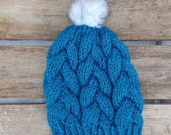 Braided Cable Beanie