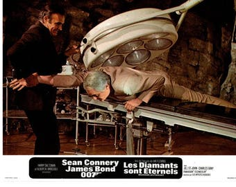 Diamonds Are Forever -  1971 – French mini lobby card