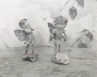 FÉE DES FLEURS Flower Fairy Seawashed Shabby Chic French Nordic Jeanne D Arc Living Style