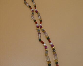 Navratan Mala, Navratan, Mala, Beads, Prayer Beads, Yoga Mala, Mediation Mala, Navratan Necklace, Knotted, Japa Mala, NM06