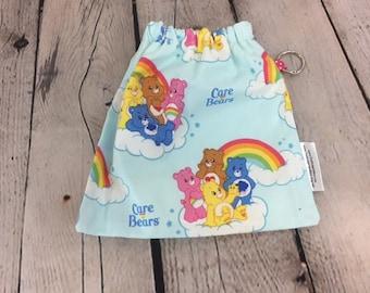 Bears Rainbow, Yarn Ball bag, Yarn Bowl, Yarn Holder