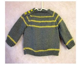 Sweater, Handknit no.1801