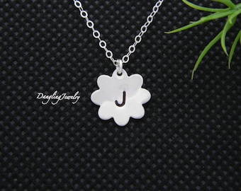 Children Initial Necklace, Personalized Kid Jewelry, Wedding Jewelry, Flower Girl Necklace, Children Jewelry, Necklace for Girl