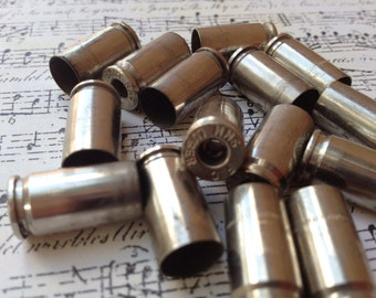 15 shell casings 9mm primer removed