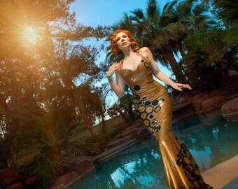 Queen Bee Latex Gown