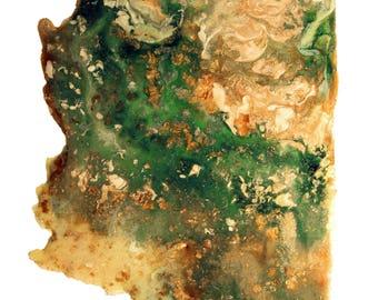 Arizona Topography Print