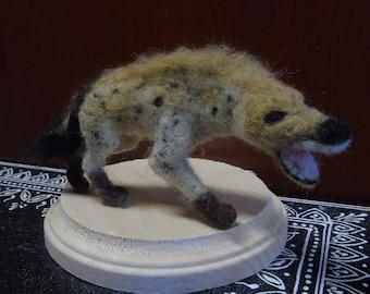 Needle Felted Hyena