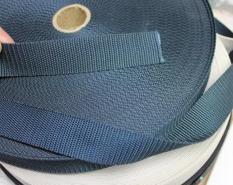"1"" dark blue Nylon Webbing,nylon webbing,1"" Nylon Webbing,1"" wide dark blue nylon webbing,dark blue webbing,webbing,dark blue webbing,"