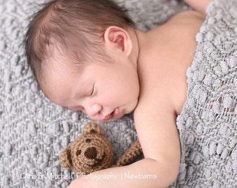 Teddy Bear Stuffy - Crochet PATTERN