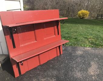 Rustic Red Door Bookshelf
