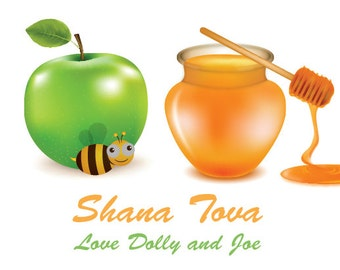 Shana Tova Gift Sticker