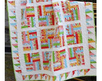 Chutes and Ladders Quilt Pattern by Little Louise Designs LLD-049