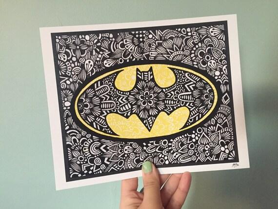 Zentangle - Batman