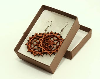 Seed of Life Earrings - Sacred Geometry Earrings - Sacred Geometry