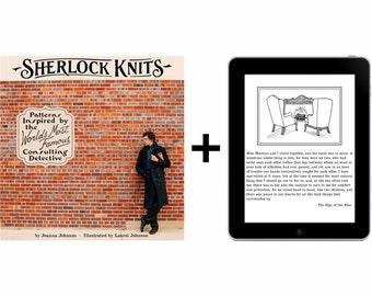 Sherlock Knits book bundle, print and digital