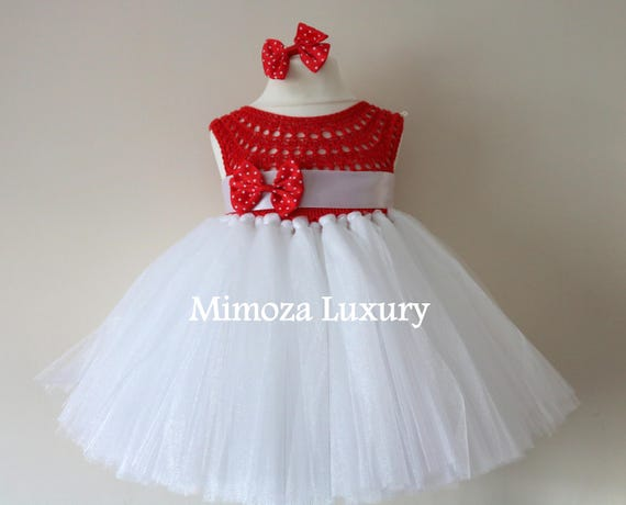 SALE size 6-9m Ready to ship, Birthday dress tutu dress,  bridesmaid dress,  princess dress, crochet top tulle