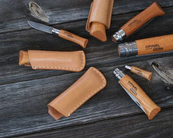 OPINEL Leather Sheath 02 03 04 05 06 07 08 09 10 12