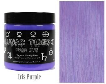 Pastel Lavender Hair Dye