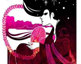 The Way We Dream - Morpheus inspired illustration