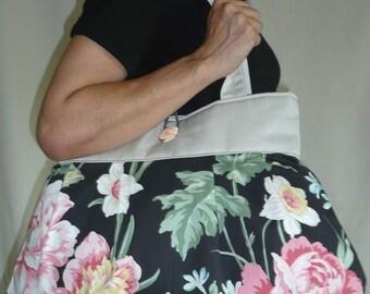 Reversible bag unique Flora