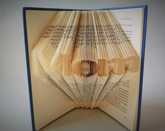 Gifts for Mom - Folded Book Art - Mothers Day Gift Ideas - Book Folding Sculpture