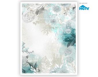 Seafoam by Iveta Abolina -  Floral Illustration Print