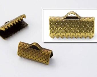 13mm Antique Brass Bar Clamp #MFN024