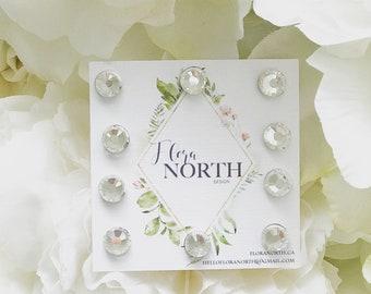 Veil Weights / Crystal Veil Weight / Magnet Veil Weight/ Bridal/ Wedding