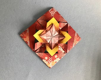 Mother's Day gift/unique Mother's Day gift/Origami Mother's Day gift/origami Flower Envelope/ lovely Mother's Day gift