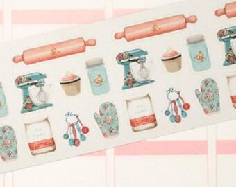 Shabby Chic Baking Set Sticker Set