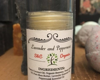 Lavender and Peppermint Lotion Bar